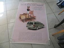 Affiche publicitaire RENAULT Mégane Break - 1999