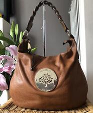 Genuine Mulberry Daria Hobo bag in oak tan soft spongy leather Medium
