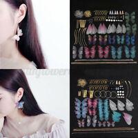 1 Set DIY Handmade Earrings Dragonfly Butterflies Wings for Earring Making