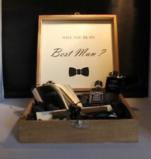 Personalised Wedding, Best Man - Groomsman Gift / Keepsake Box 4