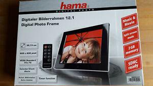 """Hama Digitaler Bilderrahmen """"12.1 Premium"""""""
