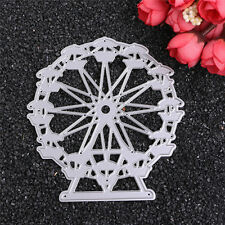 Ferris Wheel Metal DIY Cutting Dies Stencils Scrapbooking Embossing Album Decor