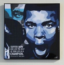 Muhammad Ali canvas quotes wall decals photo painting framed pop art poster #2
