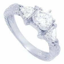 Anniversary Engagement Ring Size 8 #70 Brilliant 2.20 Ctw Aaa Diamonelle Cz