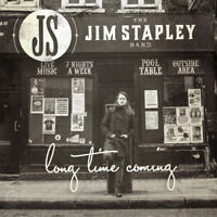 The Jim Stapley Bande Long Time Coming (2014) 12-track Album CD Tout Neuf
