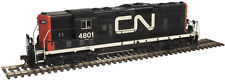 CANADIAN NATIONAL RAIL  GP-7 DIESEL W/ESU LOKSOUND & DCC - ATLAS GOLD - SHARP!