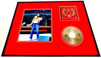 Steve Perry Framed 16x20 Journey Greatest Hits CD & Photo Display