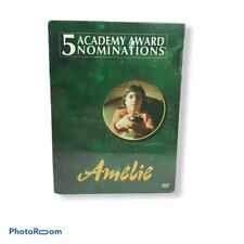 Amelie Dvd 2001 2-Disc Set Special Features Nominated 5 Academy Factory Sealed