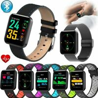 Sport Bluetooth Smart Watch Fitness Tracker Armband für iPhone Samsung Note 10 9
