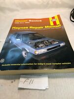 Haynes Repair Manual: 1982-1994 Nissan Sentra 72050