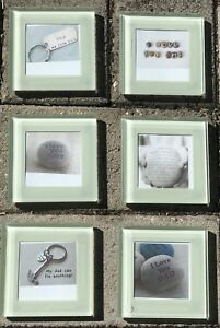 Personalised Glass Photo Coaster Set Plus Free Gift