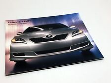 2007 Toyota Camry & Camry Hybrid Redesign Launch Preview Brochure