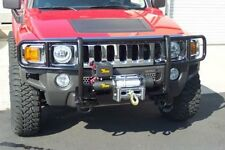 Grill Bumper Guard Black For 2006-2010 Hummer H3/ 2009-2010 H3T With Winch Mount