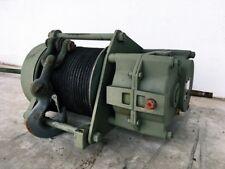 Haacon Seilwinde ex Bundeswehr für Unimog oder Tracktor, 25 m Seil *TOP*