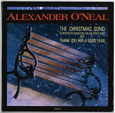 "ALEXANDER O'NEAL - 7"" - The Christmas Song / Thank You For A Good.. UK Gatefold"