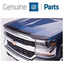 For Chevrolet Silverado 1500 16-18 Molded Hood Protector Smoke Black GM Genuine