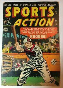 1952 Atlas/Marvel SPORTS ACTION Comic #14 VG
