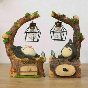 TOTORO bed side Night Light with opening draws for jewllery
