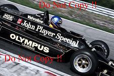 Ronnie Peterson JPS Lotus 79 British Grand Prix 1978 Photograph 3
