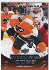 10/11 UD SERIES 2 ERIC WELLWOOD YOUNG GUNS RC SP ROOKIE #487