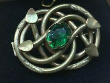 Antique Liberty Style Celtic Art Nouveau Brooch circa 1890