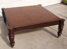 "Milling Road (Baker Furniture) 'West Indies' 28""Square Coffee Table"