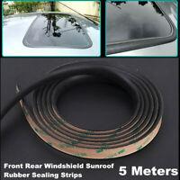 5M Car Windshield Sealant Sunroof Triangular Window Sealed Strips Rubber Sealing