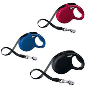 Flexi Automatic Tape Type Retractable Dog Walking Leash Chain For PetDog Size XS