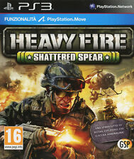 Heavy Fire Shattered Spear PS3 Playstation 3 IT IMPORT AVANQUEST ITALIA