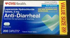 CVSHealth ANTI-DIARRHEAL 200 CAPLETS 2 mg. EXP. 12/2021