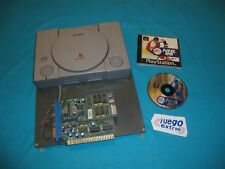 Consola Sony Playstation con Adaptador Jamma PCB for Arcade Cabinet + NHL 99