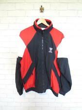VTG Shell Suit Jacket Top Festival Tracksuit Windbreaker 80s/90s Large #D5831