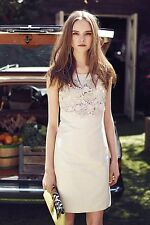 NWT Anthropologie Oleander Openwork Floral Embroidered Shift by Postmark 4