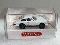 Wiking  MANN + Hummel - IAA 2011 - Porsche 911 Carrera  weiß - OVP -  T@P