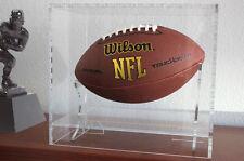Acrylique Football Affichage Étui Moderne Design NCAA NFL - Mulitple Options
