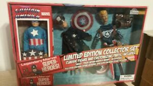 MIB 2016 COM. ROGERS 8 inch EMCE Diamond Select retro mego figure Collector set