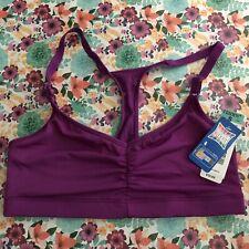 Hanes Bralette Comfort Flex Fit Unpadded Purple Size S
