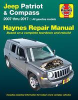 Jeep Patriot & Compass 2007-2017 Repair Manual
