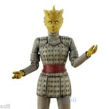 Doctor Who Classic Action Figure Gray Vest Silurian Warrior Alaya Pandorica New
