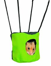TRIXIE HANGING HAMSTER MOUSE RUSTLING CAVE BED HIDE CAGE ACCESSORY 6271 NEW