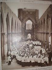 Photo article funeral Bishop of Southwark Archbishop Peter Amigo 1949