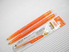 2 pen + 3 NEW PILOT retractable FRIXION ball slim 0.38mm roller ball pen Orange