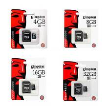 Tarjeta memoria Micro SD SDHC Kingston class 4 en blister original nueva