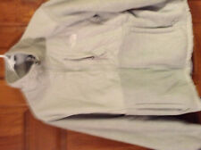 The Nort Face Denali womens jacket size L light  grey