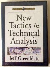 NEW TACTICS IN TECHNICAL ANALYSIS by Jeffrey Greenblatt * Stock Trading DVD *
