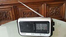 VINTAGE SHORTWAVE RADIO SHARP QT 50W PORTABLE RADIO  JAPAN