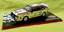 Ixo-Altaya, 1:43, Audi Quattro A2, Rallye Monte-Carlo 1984, mit decals HB