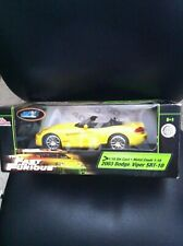 Fast And The Furious 1:18 Scale Die Cast