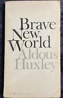 Brave New World By Aldous Huxley First Perennial Classic Edition 1969 PB