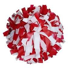 "Danzcue 1 Pair 6"" Dowel Handle Plastic Cheerleading Pom Poms"